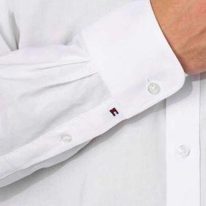 Tommy Hilfiger Shirts - Tommy Hilfiger Men's  Regular Fit Dress Shir